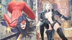 Milo Manara répond à la polémique Spider-Woman: «La séduction d'un corps n'a rien d'anti-féministe»  #manara #marvel