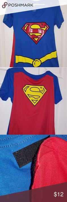 Superman Ladies T-Shirt choice of 14 fantastic colours