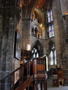 Interior of Glasgow Cathedral, St Kentigern ~ Glasgow, Scotland