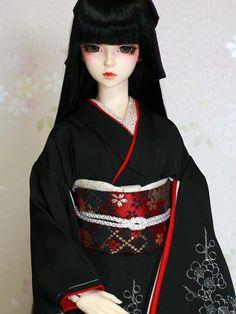 Gumiho, Beautiful Fantasy Art, Beautiful Barbie Dolls, Geisha, Japanese Art, Art Drawings, Kimono, Disney Princess, Cute