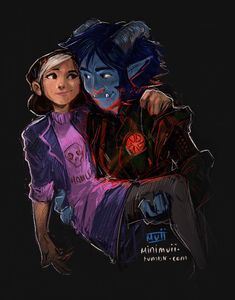 """minimuii: """"They 💜❤️💙 """" Trollhunters Characters, Fictional Characters, Series Movies, Movies And Tv Shows, Cartoon Shows, Film Serie, Animation Series, Dreamworks, Cute Couples"""