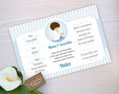 Lindo convite digital personalizado para batizado no tamanho 10X15 cm.  O nome da criança e texto é personalizado no seu gosto.    => VANTAGENS DE USAR ARQUIVO DIGITAL:  -------------------------------------------------------------  - Você poderá imprimir quantos convites quiser e ter a arte de r...