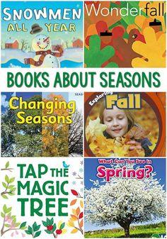 Seasons Kindergarten, Preschool Literacy, Kindergarten Science, Preschool Books, Preschool Themes, Literacy Activities, Montessori Elementary, Preschool Seasons, Fall Preschool