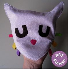 Cat Sensory Toy and ... by LittleMela | Sewing Pattern