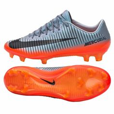 4a04483d28f Nike CR7 Ronaldo Mercurial Vapor XI FG Soccer Shoes (Hematite)    SoccerEvolution