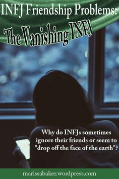 "click to read article, ""The Vanishing INFJ?"" | marissabaker.wordpress.com"
