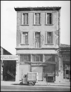 Thessaloniki, Neoclassical, Athens, Old Photos, Greece, Floor Plans, Explore, Vintage, Country