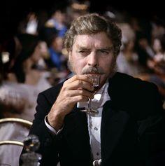 "Burt Lancaster en ""El gatopardo"", 1963"