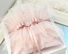 Pink Bridal Garter, Wedding Garter Set, Ring Holder Wedding, Ring Pillow Wedding, Ring Holders, Tulle Wedding, Elegant Wedding, Handmade Wedding Rings, Spring Wedding Decorations