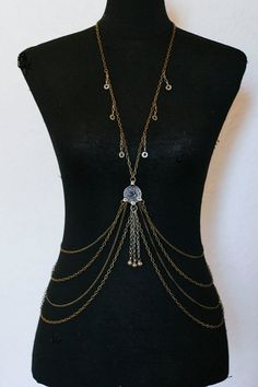 Body chains by GEKA - available on etsy