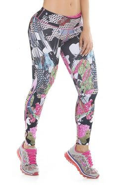 363fcbf907 These beautiful printed compression leggings that are sure to become your  go-to workout pants
