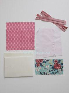 Monedero con dos cremalleras | Atelier de Monique | Bloglovin' Sunbonnet Sue, Bag Patterns To Sew, Patchwork Bags, Scrunchies, Diy And Crafts, Sewing Projects, Patches, Pouch, Blog