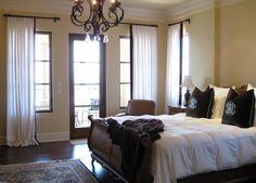 baseboards white door and window trim dark