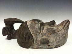 African Art Tribal Art Ogoni Mask Talking Mask | eBay