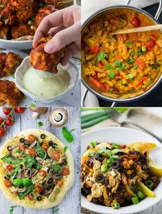 These 10 amazing vegan comfort food recipes are perfect after a long and hard day at work. Sometimes we all just need some comfort food in our lives! Vegan Recipes Easy, Vegetarian Recipes, Cooking Recipes, Yummy Recipes, Vegan Chili, Vegan Curry, Vegan Pizza, Vegan Food, Easy Vegan Dinner
