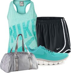 """""""NIKE Workout"""" by scooby1234 on Polyvore"""