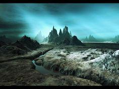 planetary landscape | mystic-planet-landscape-mountains « Casa de Osiris