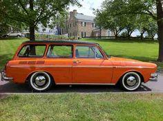 1973 VW Type 3 Squareback. The Squareback is my favorite Volkswagen.