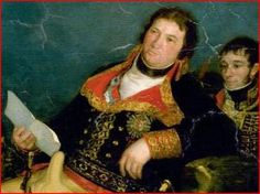 Manuel Godoy. Pintado por Goya.
