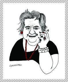 "Alda Merini, 1931 - 2009. Poetessa, esordì nel 1953 con la raccolta poetica ""La presenza di Orfeo""; venne soprannominata la ""poetessa dei Navigli"". #AlbumMilano #AldaMerini"
