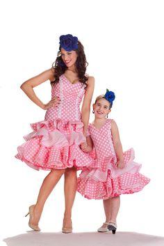 falda flamenca de niña - Buscar con Google Mom And Daughter Matching, Spanish Fashion, Tutu, Harajuku, Dress Up, Boutique, Children, Google, Originals