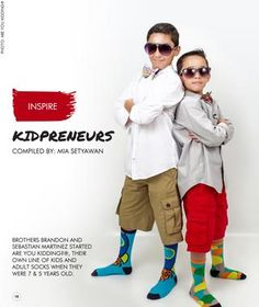 You are never too young to dream. Read the kidpreneur journey of Brandon & Sebastian Martinez of Are You Kidding®   Kids Nation Magazine - Edition 14 November/December 2016  Edition 14: Money lessons for kids & Kidpreneurs World's first free digital magazine, dedicated to empowering kids around the world, with global contributors