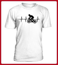 Mein Herz schlaegt fuer Radrennen - Fahrrad shirts (*Partner-Link)