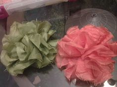 Big poofy flower bows-$3.50 each
