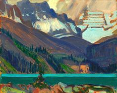 Snow Clouds, Lake O'Hara, 1929 J. MacDonald Oil on pressed paperboard Overall: x cm Gift from the J. Group Of Seven Artists, Group Of Seven Paintings, Paintings I Love, Tom Thomson, Emily Carr, Canadian Painters, Canadian Artists, Snow Clouds, Art Gallery Of Ontario