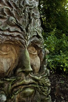 Green Man, Nature Verte, Tree People, Tree Faces, Nature Spirits, Tree Carving, Tree Sculpture, Wassily Kandinsky, Tree Art