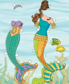 Marina   I Like Mermaid Paperdolls But These Outfits Are