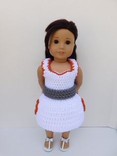Star Wars BB-8 Inspired Dress for American Girl by BittyBeanies