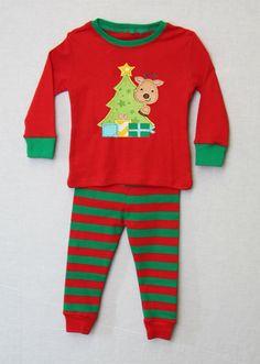 292644  Kids Christmas Pajamas  Matching Christmas Pjs by ZuliKids