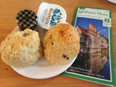 Ightham Mote Scones! 4.5 out of 5!