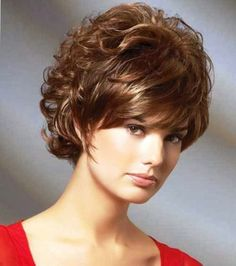 Hairstyles For Curly Hair : Short Curly Hairstyles ~ Cute Girl Hairstyles