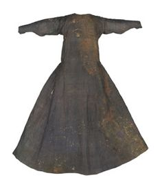 Doña Teresa Gil´s Dress. Early XIV century.