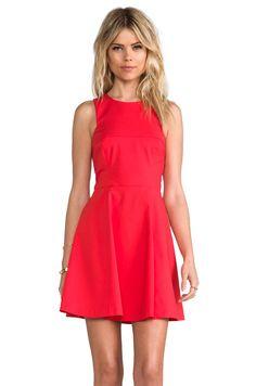 Bardot Nolan Skate Dress in Red from REVOLVEclothing