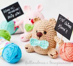 Free Patterns: ¡Te quiero, mamá! | Gallimelmas e Imaginancias