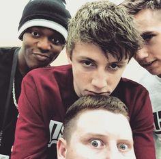 Ksi,Harry,Simon and Ethan British Youtubers, Best Youtubers, Sidemen Members, Simon Minter, Christopher George, English Comedians, Love Sick, British Boys, Humor