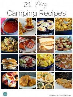 21+ Easy Camping Recipes