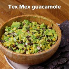 Tex Mex Guacamole Recipe by Tasty