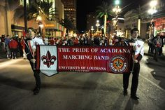 "UL Lafayette ""Paint the town Red""  New Orleans for the bowl game"