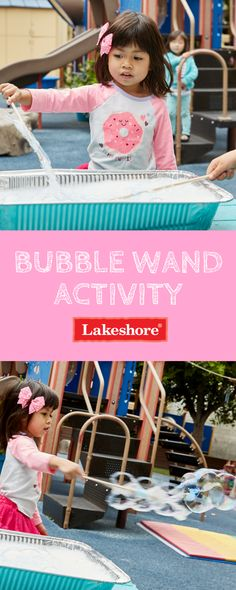 These homemade bubble wands and bubble solution are perfect for fun! Homemade Bubble Wands, Homemade Bubbles, Lakeshore Learning, Summer Activities For Kids, Summer Fun, Creative, Kids Summer Activities, Summer Fun List, Summer Activities
