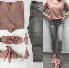 Clothes combinations kyafet kombinleri 57 massive casual outfit ideas for women this year faswon com Cute Fall Outfits, Classy Outfits, Stylish Outfits, Teen Fashion Outfits, Mode Outfits, Terno Casual, Vetement Fashion, Outfit Combinations, Western Outfits