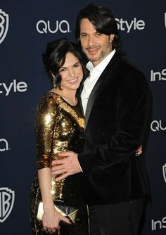 Lana Parrilla - Arrivals at the InStyle/Warner Bros. Golden Globes Party