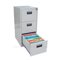 3 draw filing cabinet   supplied by hefeng-furniture.com are ideal for school,office,military and government agency.Factory Direct,huge selection.