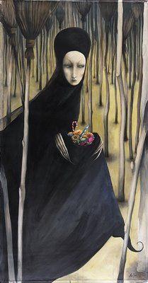 Illustration by Ana Juan for Hansel and Gretel