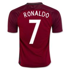 4057fd476d7 Cristiano Ronaldo 7 2018 World Cup Portugal Home Soccer Jersey