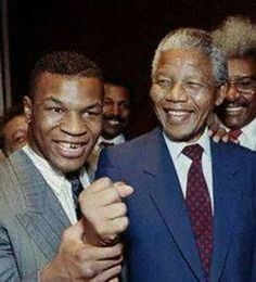 .Mike Tyson and Mandela