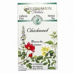 Celebration Herbals Chickweed Tea -- 24 Tea Bags-0.91oz(26g) Celebration Herbals,http://www.amazon.com/dp/B009620XPA/ref=cm_sw_r_pi_dp_gNYotb068RQAA2GK